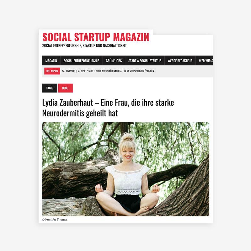 Zauberhaut_Presse_Artikel_Social_Startup_Magazin
