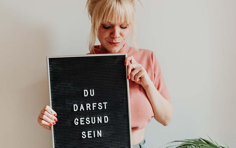 Zauberhaut Blog – Coaching für Haut und Seele: Mein Geheimnis für gesunde Haut ist der Glaubenssatz du darfst gesund sein